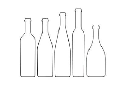 bottiglie varie